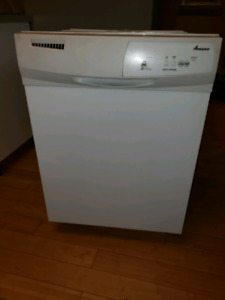 Amana dishwasher- works fine just upgraded ours to stainless