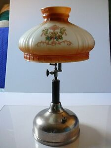 Coleman vintage lamp Quick Lite 1922 with Coleman No.318 shade London Ontario image 2