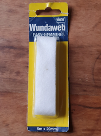 Tape for hemming, no sewing (still in package)