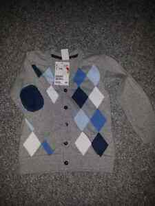 Brand new with tags boys cardigan