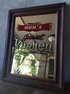 Mom's Kitchen Mirror Picture