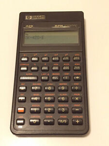 Looking for a HP-42S RPN Scientific Calculator