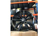 "20"" alloy wheels Alloys Rims tyre tyres BMW X3 X5 X6 Vw Volkswagen Transporter T5 120 pcd"