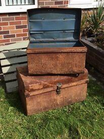 Metal Storage chests - hidden treasure