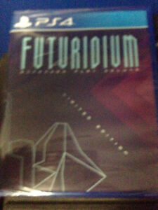 Futuridium EP Deluxe PS4 LIMITED RUN #6 new with factory seal