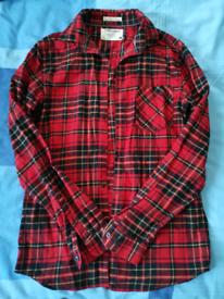 Small Long Sleeved Lumberjack Shirt (Jack and Jones)