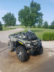 2010 can-am Outlander xl 800