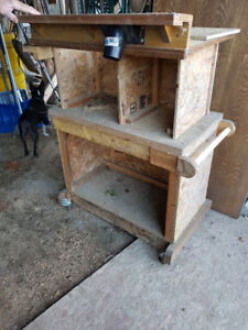 custom made router cabinet