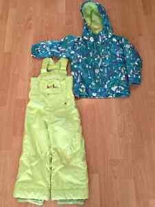 Girls Burton 2-Piece Size 4