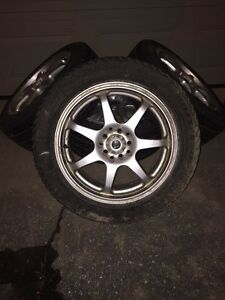 Audi A4 or VW snow tires on rims