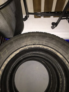 """Selling 3 winter tires (15"""")"""