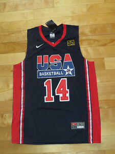 Chares Barkley Retro Team USA Basketball Jersey   Sz L