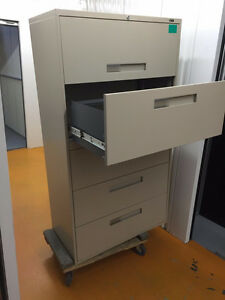 5 Drawer Lateral File Cabinets  and Classuers Available Kingston Kingston Area image 3