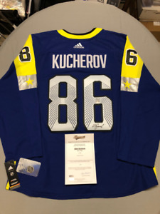 c0dcd3639 Signed Licensed NHL Jersey with COA  NHL All-Star - KUCHEROV