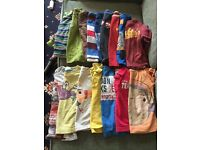 12-18 months long & short sleeved t shirts x 16