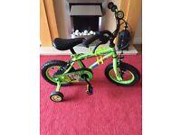 """Apollo boys 12"""" bike"""