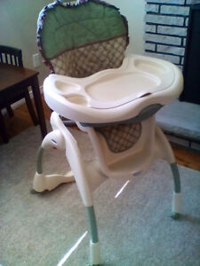 Old model Graco high chair