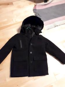 Manteau hiver propre garçon 5 ans