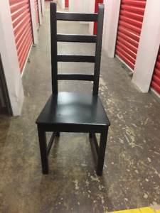IKEA KAUSTBY CHAIRS - 4 AVAILABLE AT $29 EACH