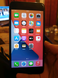 IPHONE 7 PLUS 128GB BLACK UNLOCKED GOOD CONDITION WITH BOX 👌