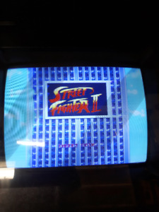 Street fighter II pcb board tested
