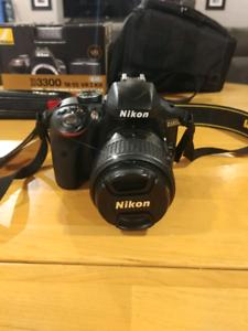 Nikon D3300 18-55 VRII Kit