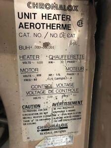 Chaufrettes / Heater + Cabinet de sablage / Sandblast Cabinet