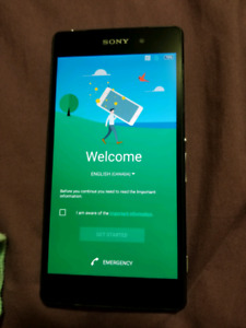 Sony Xperia Z2 locked to Bell