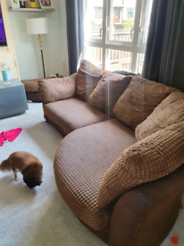 Dfs corner couch and cuddle couch
