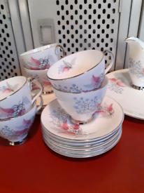 Royal Albert 20 piece vintage Tea Set.