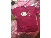 9x exclusive King's Farm Heros pink Ring Spun t-shirts. New & sealed