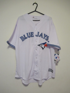 Toronto Blue Jays Majestic Cool Base Replica Jersey 2XL XXL OBO