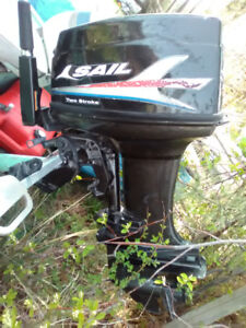 40hp outboard motor 2007