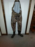 Cabela's Breathable Chest Waders - worn once