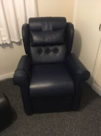 Recline and stand chair