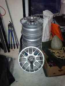 17 Inch TSW Alloy rims 5 X 120MM