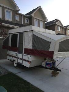 96 Rockwood tent trailer