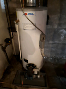 Water heater (oil fired)