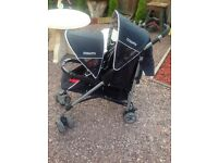 Cosatto double pushchair only no covers