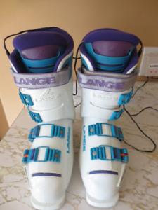 Ladies Heated Downhill Ski Boots