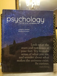 Psychology 1010 textbook york university