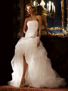 Wedding Dress - High - low