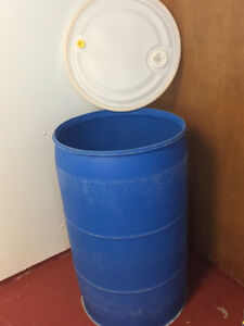 Barrels, 55 gallons; empty
