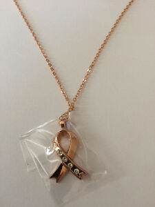 Rose Gold WillLand Pendant Necklace with Swarovski crystals