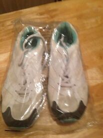 Size 5 white trainers