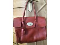 Leather mulberry design Bayswater handbag