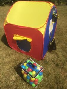 Childrens fun house - collapsible and compact
