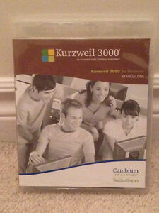 Kurzweil 3000 audio reading aid