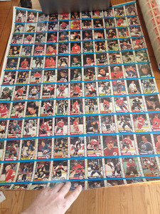 Lot de carte de hockey - Hockey card lot