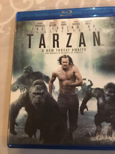 THE LEGEND OF TARZAN BLUERAY - brand new!